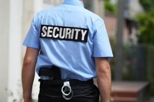 armed Korner security guards