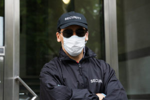 korner security guard mask enforcement